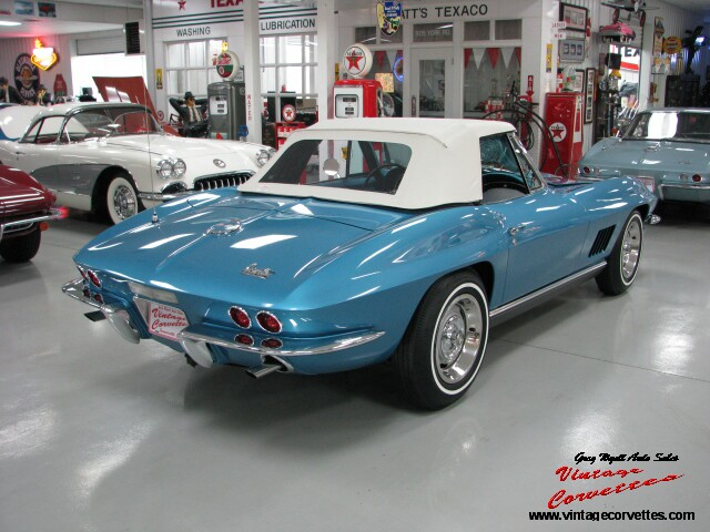 Pictures Of Corvettes >> 1967 CORVETTE CONVERTIBLE